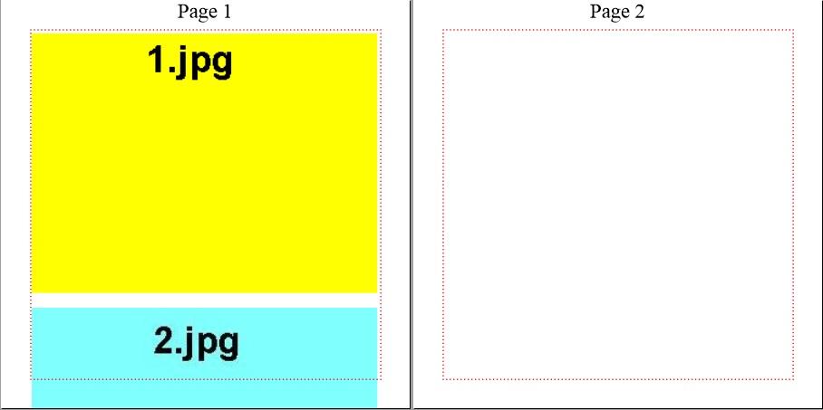 【図6 画像を2つ埋め込んだケース】