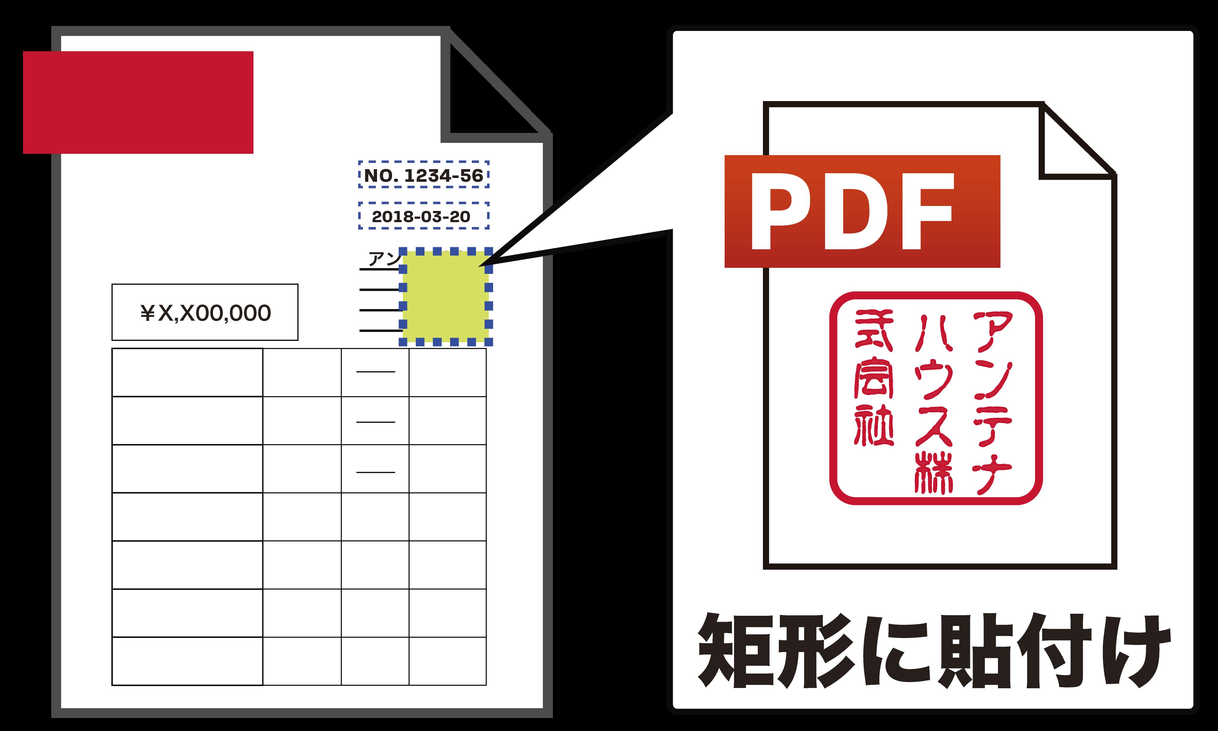 印鑑 pdf